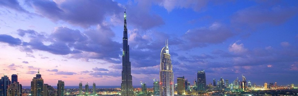 Burj Khalifa, Oldtown, Downtown panoramic pic