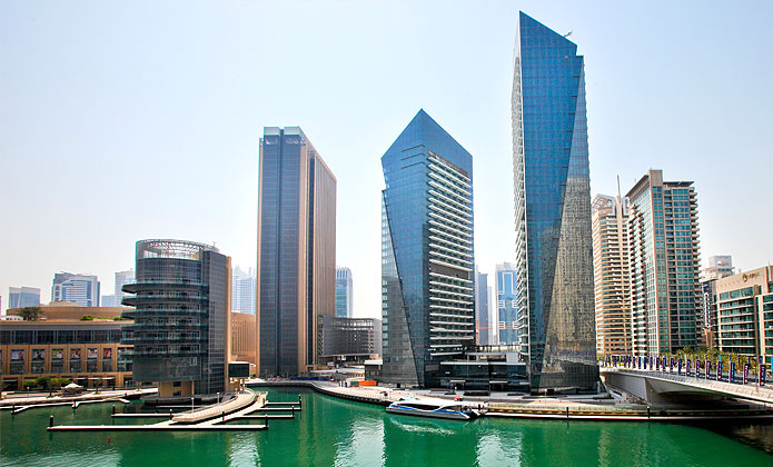 A Beautiful 1 Bedroom Apartment In Dubai Marina Silverene